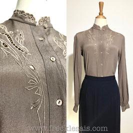 4Seasons Silk 80s blouse, HK | M