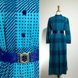 Tartan 70s dress, Europe | L