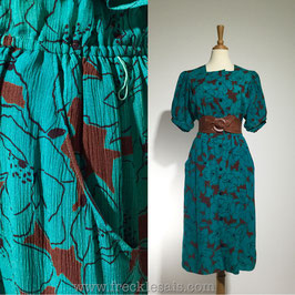 VOIR Sanyo 60s dress, Japan | M
