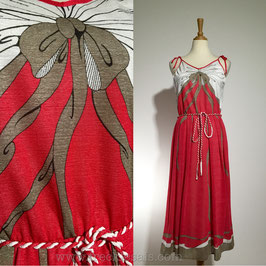 Modelle Red 70s dress, Germany | M