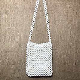 White beads Handbag, 80s