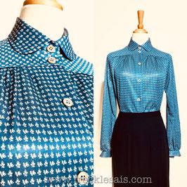 Frendy Ocean 70s blouse, Finland | M