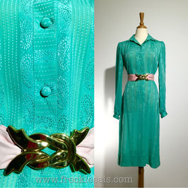Princeton Mint 70s dress, AUS | M
