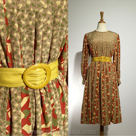 Voir Flakes 70s dress, Japan | L