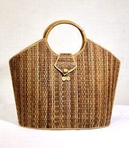 80's Rattan Handbag