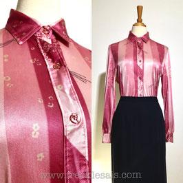 CATALINA 70s shirt blouse, USA   M