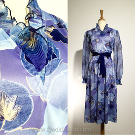 Amy-Deb 70s dress, USA | M
