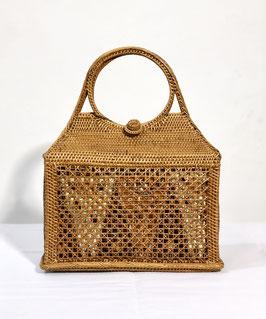 Batik 80's Rattan Handbag