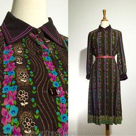 Lady Moiselle 70s dress, Japan | S