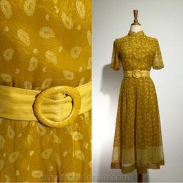 Tokyo Lyonette 70s dress, Japan | S