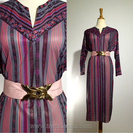 Purplink Kaftan 70s dress, Europe | L