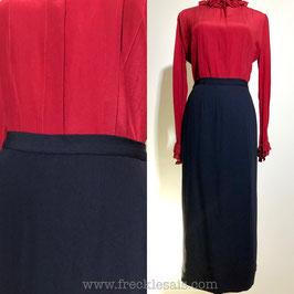 TRUSSARDI 80s long skirt, Italy | M
