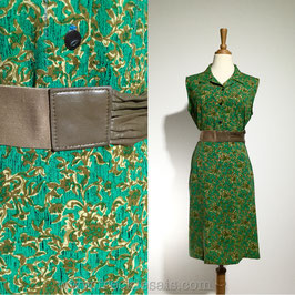 Forest Maze 70s dress, Japan | L