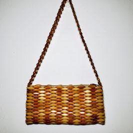 Brown beads 70s Handbag, Europe