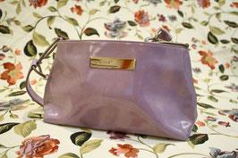 Fion Lilac 90s Vernis Handbag, Italy