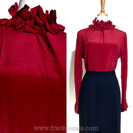 Helena Silk 80s blouse, HK | M