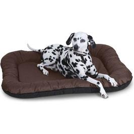 Knuffelwuff Wasserfestes In und Outdoor Hundebett Lucky Größe L-XXXL Braun