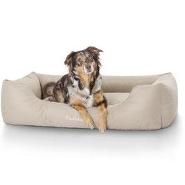Knuffelwuff Wasserabweisendes Hundebett Finlay Größe L-XXXL Beige