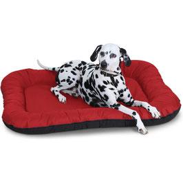 Knuffelwuff Wasserfestes In und Outdoor Hundebett Lucky Größe L-XXXL ROT