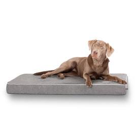 Knuffelwuff Hundematte Maui aus 9cm Schaumstoff Größe XXL in Grau