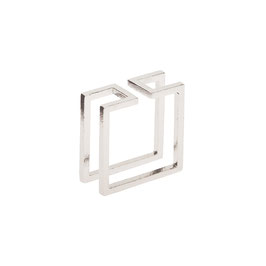 Cube Ring Silber