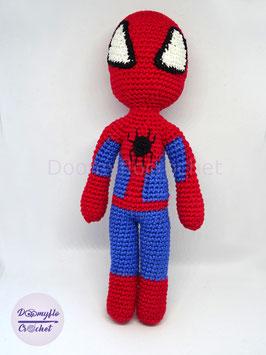 Spiderman Homme Araignée poupée au crochet en coton; fanart; figurine super heros