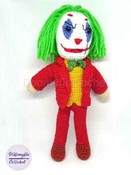 Joker 2019 poupée au crochet amigurumi fait main inspirée du film