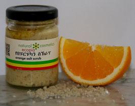 Orange-Salz-Peeling