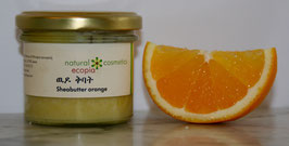 Sheabutter mit Orangen ätherischesöl.
