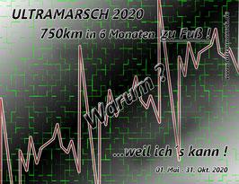 Kühlschrank-/ Auto Magnet ULTRAMARSCH CORONA
