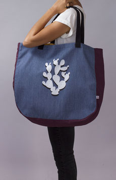 SHOPPING/BEACH BAG (denim)