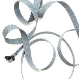 Bauchtasche Band grau