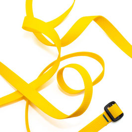 Bauchtasche Band gelb