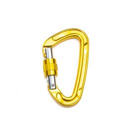 Bauchtasche Karabiner gelb