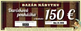 Darčeková poukážka - 150 EUR
