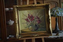 Olejomaľba na plátne s podpisom autora 60 x 65cm