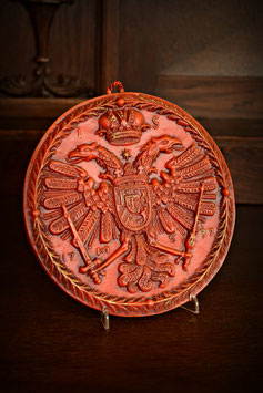 Vosková dekorácia 18 x 19cm