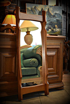 Nádherné drevené zrkadlo 45 x 110cm