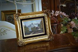 Olejomaľba na plátne s podpisom autora 26 x 31cm
