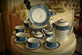 Nádherný porcelánový servis pre 11 osôb - Triptis Thuringen 1891 Germany - 36 kusov