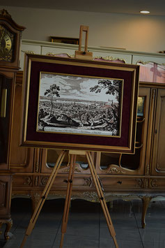 Obraz v drevenom ráme s podpisom autora 68 x 88cm