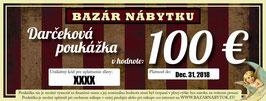 Darčeková poukážka - 100 EUR