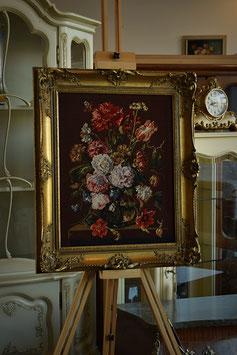 Obraz v drevenom ráme gobelín 53 x 63cm