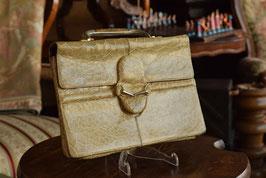 Kožená retro kabelka