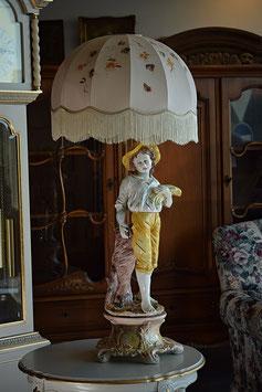 Nádherná porecelánová lampa Capodimonte Italy