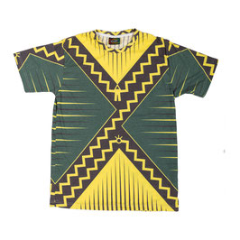 """jamaica"" gelb/grün T-Shirt unisex"