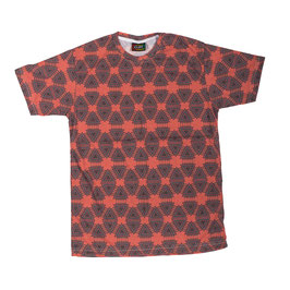 """geometry"" rust-colored T-Shirt unisex"