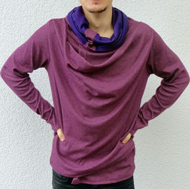 """extraordinary"" purple Sweater unisex/unisize"