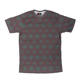 """geometry"" green T-Shirt unisex"