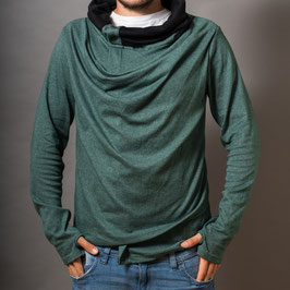 """extraordinary"" green Sweater unisex/unisize"